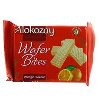 Alokozay Orange Flavour Wafer Bites 45g