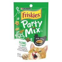 Purina Friskies Party Mix Picnic Crunch Adult Cat Food 60g