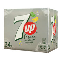 7up free of sugar 330 ml x 24 pieces