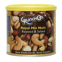Crunchos Roasted & Salted Royal Mix Nuts 200g