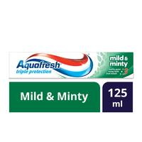 Aquafresh toothpaste mild and minty 125 ml