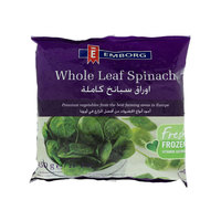 Emborg Whole Leaf Spinach 450g