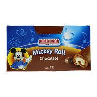Americana Chocolate Mickey Roll Cake x Pack of 24