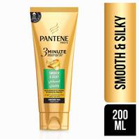 Pantene pro-v 3 minute miracle smooth & silky conditioner + mask 200 ml
