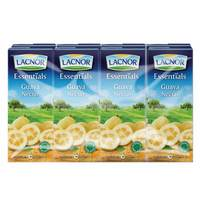 Lacnor Essentialsguava Nectar Juice 180ml x Pack of 8