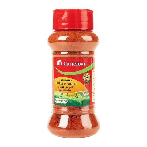 Buy Carrefour Kashmiri Chilli Powder 75 G Online Shop Food Cupboard On Carrefour Saudi Arabia