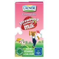 Lacnor Essentials Strawberry Flavoured Milk 125ml