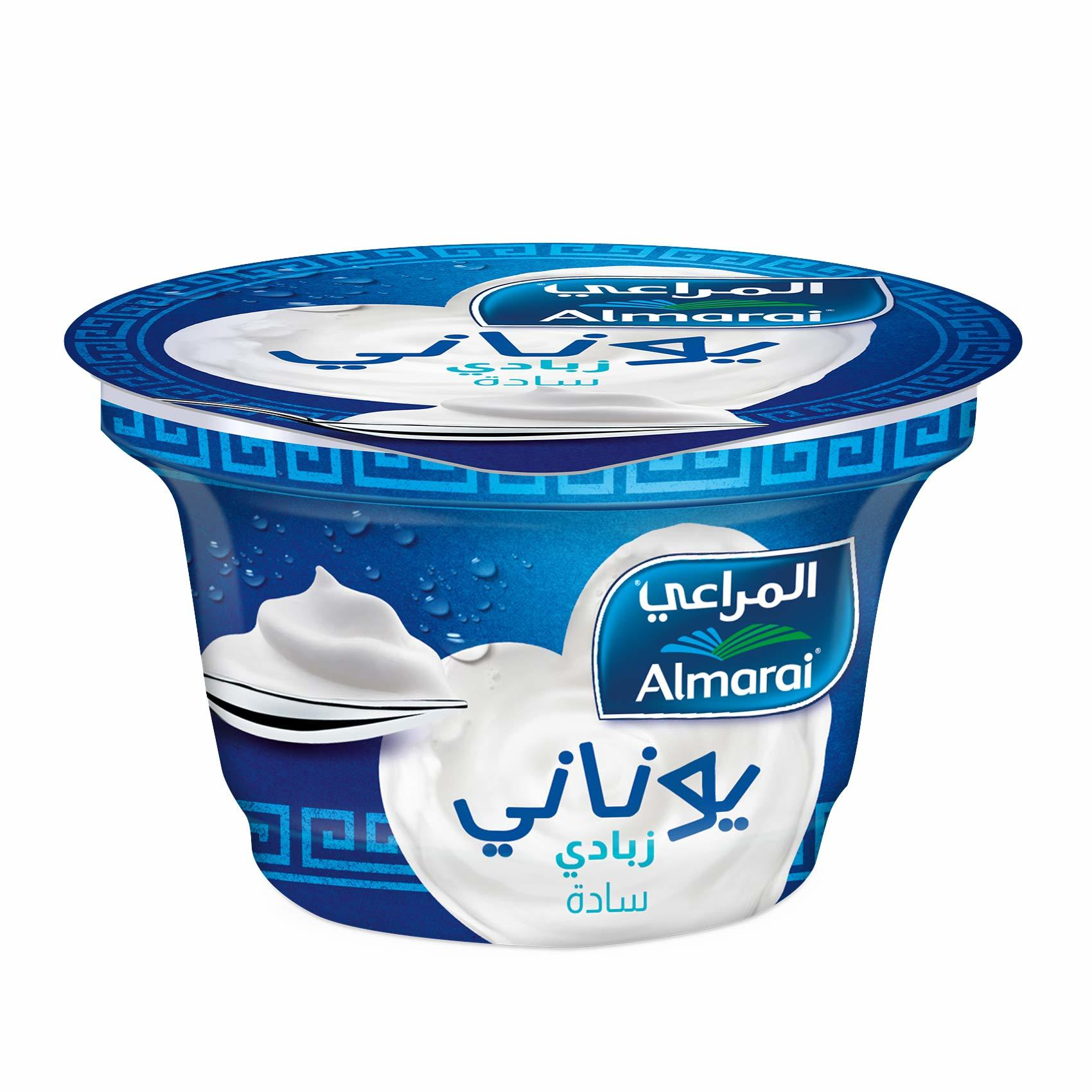 Buy Almarai Greek Yoghurt Plain 150 G Online Shop Fresh Food On Carrefour Saudi Arabia