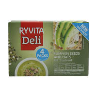 Ryvita Deli Pumpkin Seeds And Oats Rye Crisp Bread 200g