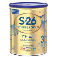 Wyeth Nutrition S26 Progress Gold Stage 3 Vanilla Flavor Growing Up Formula Milk 400g