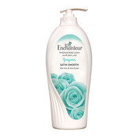 Enchanteur gorgeous perfumed body lotion satin smooth aloe vera & olive butter 500 ml