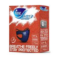 Face Mask Fine Guard Sports Large (Carton of 02x20)