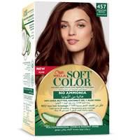 Wella soft color hair color kit 457 medium red brown