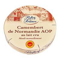Reflets de france camembert milk raw 250 g