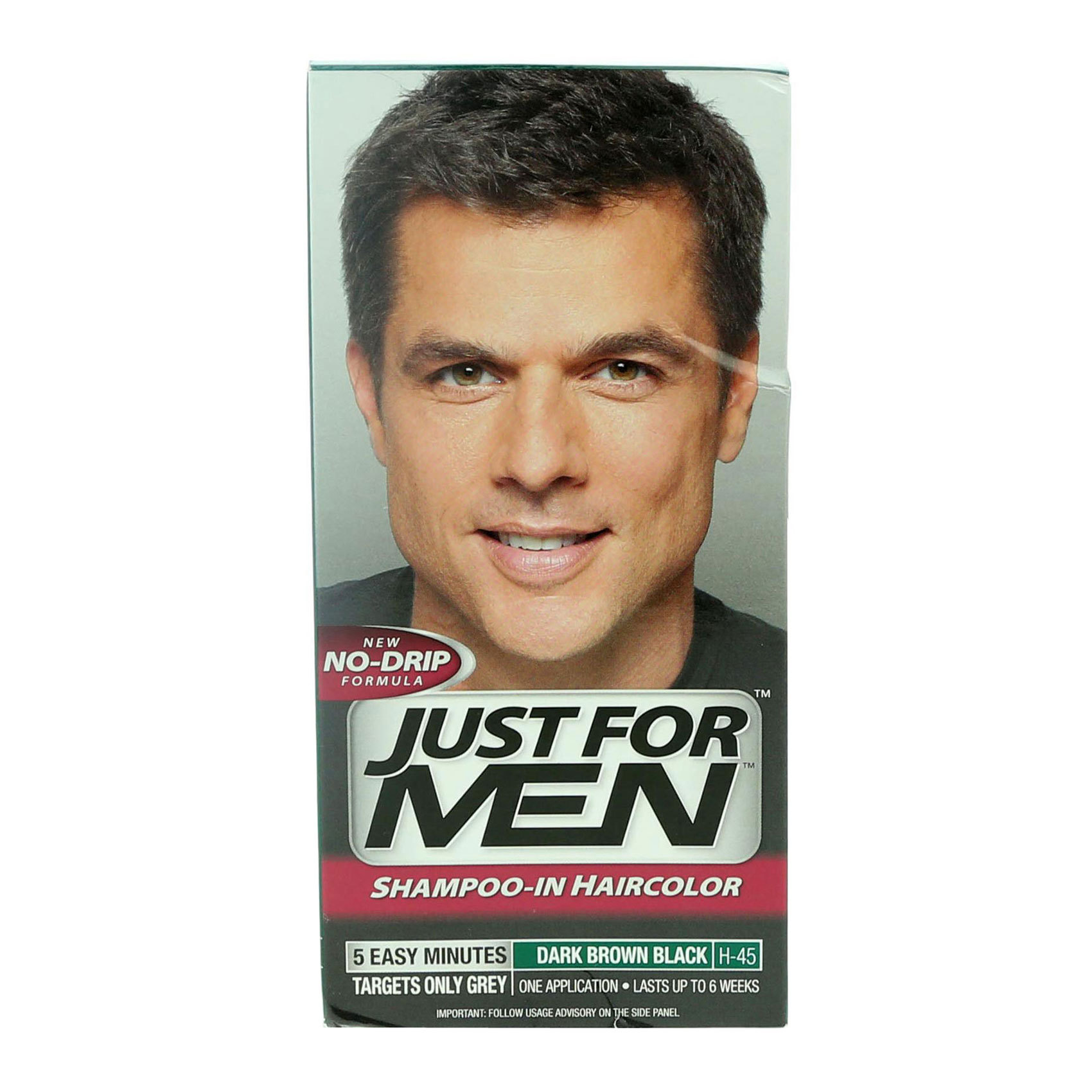 Buy Just For Men Dark Brown Shampoo Hair Color Online Shop Beauty Personal Care On Carrefour Uae