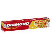 Diamond Cling Wrap 300 Sq. Ft x 30cm