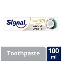 Signal tooth paste complete 8 coco white 100 ml