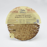 Reflet de france wheat crepes 6 x 240 g