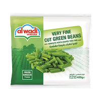 Al Wadi Al Akhdar Cut Green Beans Frozen 400GR