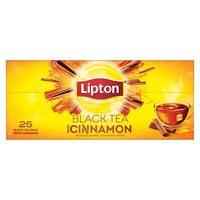 Lipton Flavoured Black Tea Cinnamon 25 Teabags