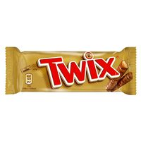 Twix Twin Chocolate Bars 50g