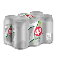7up free of sugar 330 ml x 6 pieces
