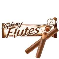 Galaxy Flutes Chocolate Twin Fingers 22.5g
