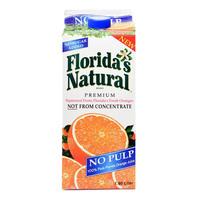 Florida's Natural Premium Orange Juice No Pulp 1.8L