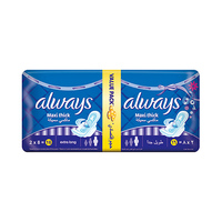 Always Ladies Pads MaxiThick Extra Long Value Pack 16 Pads