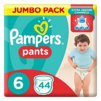Pampers Pants Diapers Size 6 Extra Large 16+ kg Jumbo Pack 44 Count