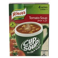 Knorr Cup-A-Soup Cream Of Tomato Soup 22g x Pack of 4
