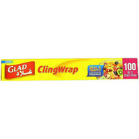 Glad Cling Wrap 100 Sq Ft