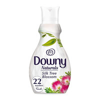 Downy naturals concentrate fabric softener silk tree blossom scent 880 ml