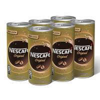 Nescafe Ready to Drink Original Chilled Coffee 240ml x Pack of 6