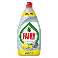 Fairy Lemon Hand Dishwashing Liquid 800ml x Pack of 2