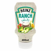 Heinz Original Ranch Salad Dressing Sauce 400ml