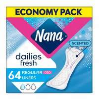 Nana Daily Deo Fresh Lines Normal Economy Pack 64 Pads