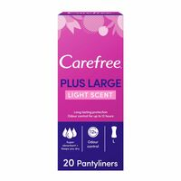 Carefree Panty Liners Large Pack Of 20