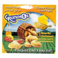 Crunchos Cheese Potato Chips 25g