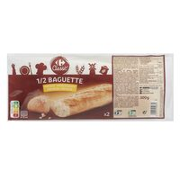 Carrefour Half Baguette Bread 150g x Pack of 2
