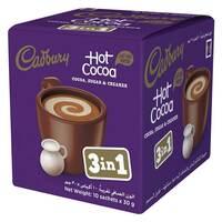Cadbury 3 in 1 Hot Cocoa Powder 30g x 10 Pieces