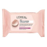 L'Oreal Paris Fine Flowers Cleansing Wipes 25 Counts