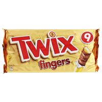 Twix Finger Biscuits 23g x Pack of 9