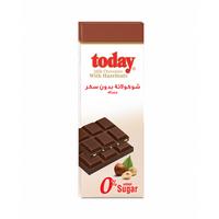 Today Chocolate Dark With Hazelnut Sugar Free 65GR