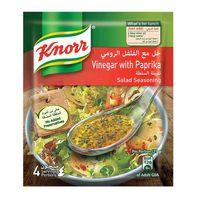 Knorr Vinegar And Paprika Salad Seasoning Mix 10g x Pack of 4