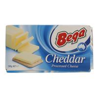 Bega Cheddar Processed Cheese 500g