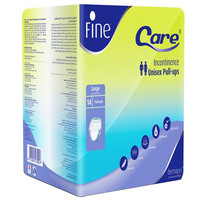 Fine Care Unisex Pull-Ups Adult Diapers Large 14 Counts