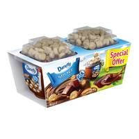 Danette Dessert Chocolate Flavour with Biscuit topper 96g