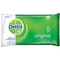Dettol Anti Bacterial Skin 40 Counts