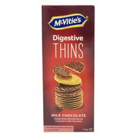 McVities Digestive Thins Milk Chocolate Biscuits 150g